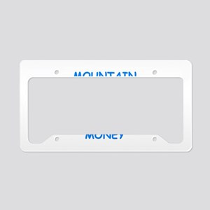 mountain climbing License Plate Holder
