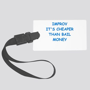 improv Luggage Tag