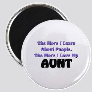 more I learn about people, more I love my AUNT Mag