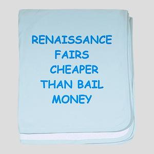 renaissance fair baby blanket