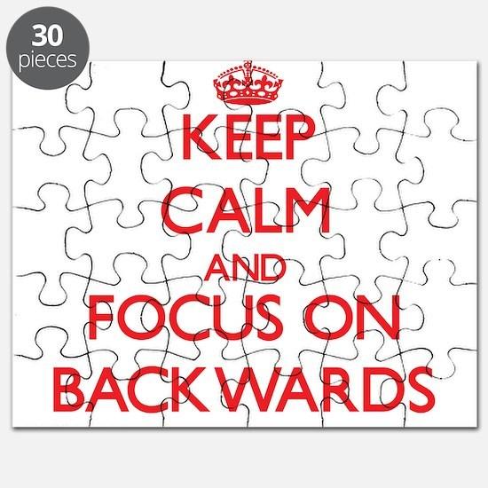Unique Backwards Puzzle