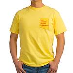 Save AZ Libraries Yellow T-Shirt