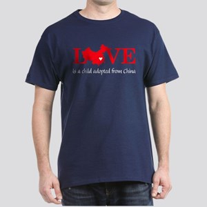 China Love Dark T-Shirt