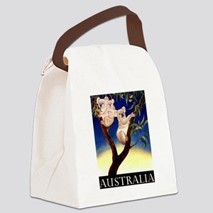 1956 Australia Koalas Vintage Travel Poster Canvas