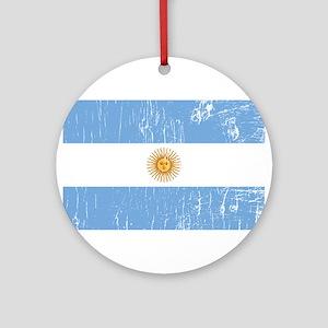 Vintage Argentina Ornament (Round)