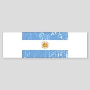 Vintage Argentina Bumper Sticker