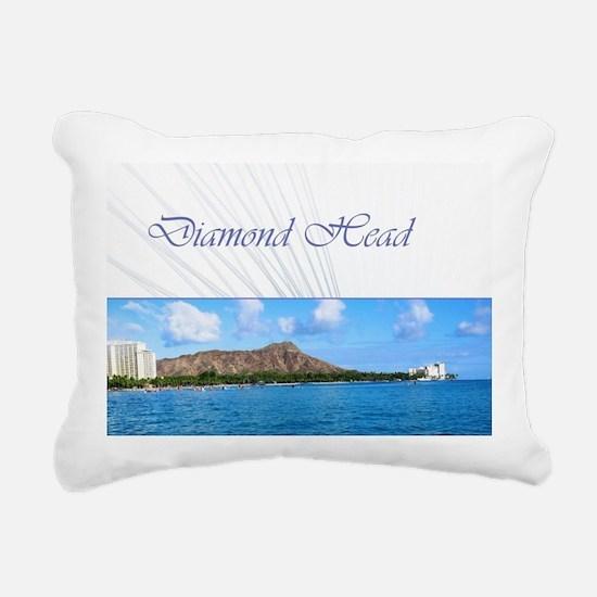 Honolulu - Hawaii Rectangular Canvas Pillow