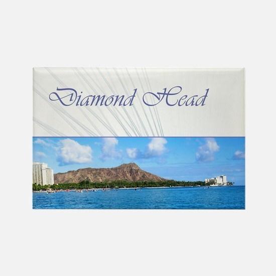 Honolulu - Hawaii Rectangle Magnet