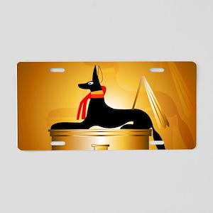 Anubis Aluminum License Plate