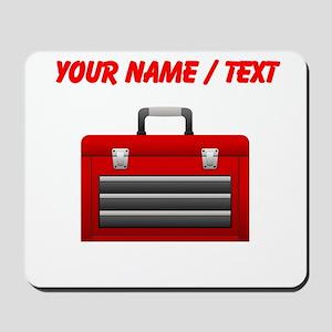 Custom Red Toolbox Mousepad