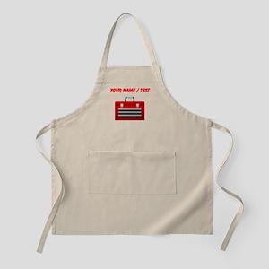 Custom Red Toolbox Apron