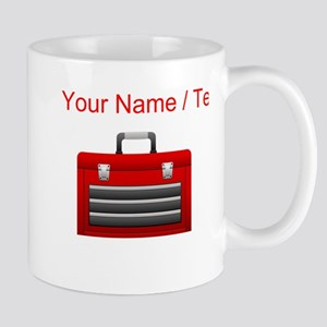 Custom Red Toolbox Mugs