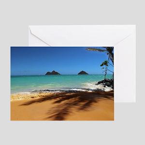 Hawaii - Lanikai Beach Greeting Card