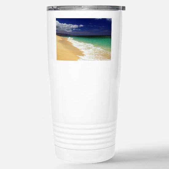 Hawaii - Sunset Beach Stainless Steel Travel Mug