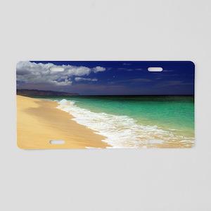 Hawaii - Sunset Beach Aluminum License Plate