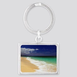 Hawaii - Sunset Beach Landscape Keychain