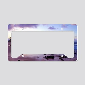 Hawaii - Sandy Beach -2 License Plate Holder