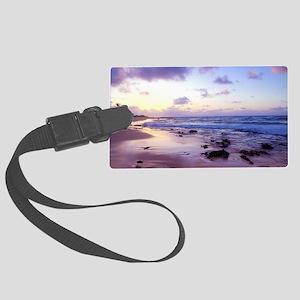Hawaii - Sandy Beach -2 Large Luggage Tag