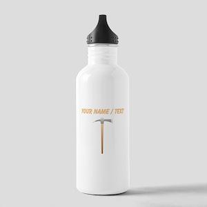 Custom Pick Axe Water Bottle
