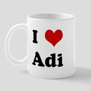 I Love Adi Mug
