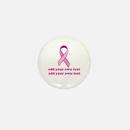 Cute I fight like a girl Mini Button