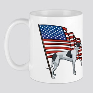 USA Greyhound Mug