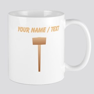 Custom Wooden Sledgehammer Mugs