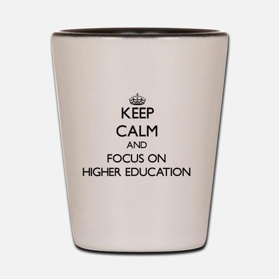 Unique Higher education Shot Glass
