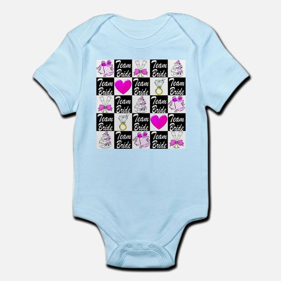 CHIC MAID OF HONOR Infant Bodysuit