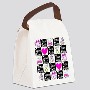 CHIC MAID OF HONOR Canvas Lunch Bag