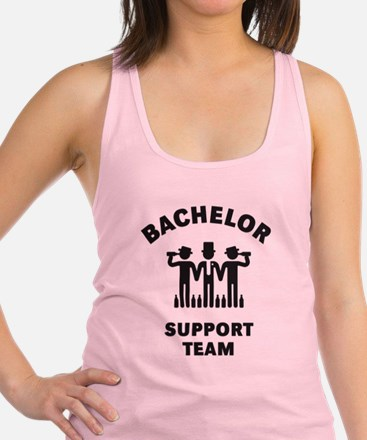 Cute Wedding team Racerback Tank Top