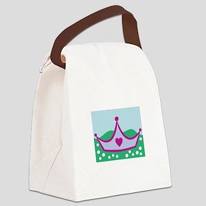 Princess Crown Canvas Lunch Bag