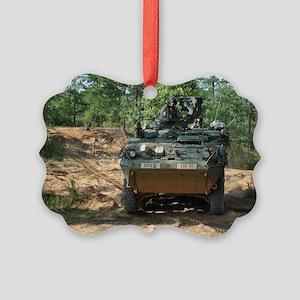Strike Hard Stryker Picture Ornament