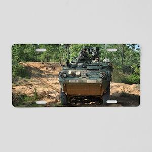 Strike Hard Stryker Aluminum License Plate