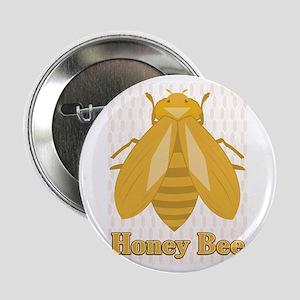 "Honey Bee 2.25"" Button"