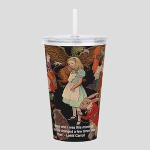 Alice & Animals Acrylic Double-wall Tumbler