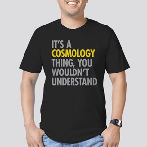 Its A Cosmology Thing Men's Fitted T-Shirt (dark)