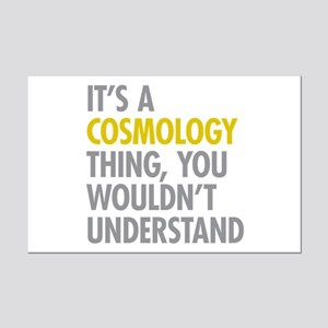 Its A Cosmology Thing Mini Poster Print