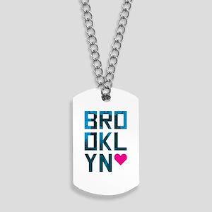 Brooklyn Love Dog Tags