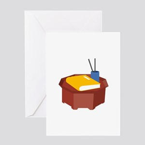 Table Pencil Booklet Greeting Cards