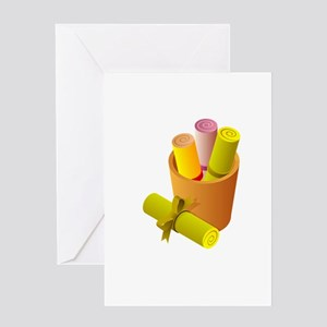 Chinese Scrolls Writings Greeting Cards