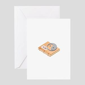 Ying Yang Chinese Book Greeting Cards