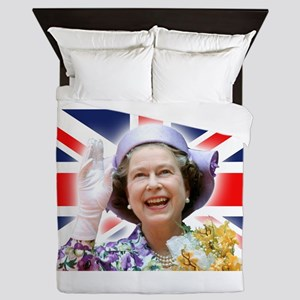 HM Queen Elizabeth II Queen Duvet