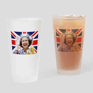 HM Queen Elizabeth II Drinking Glass