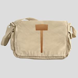 Wooden Sledgehammer Messenger Bag