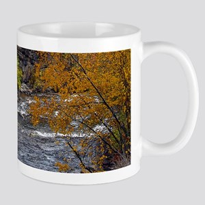 Logan Canyon river Mugs