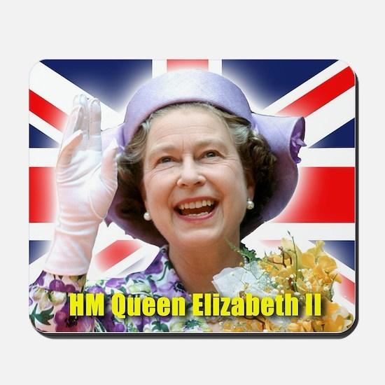 HM Queen Elizabeth II Mousepad
