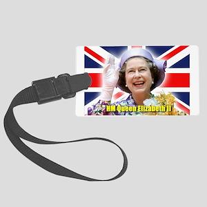 HM Queen Elizabeth II Large Luggage Tag