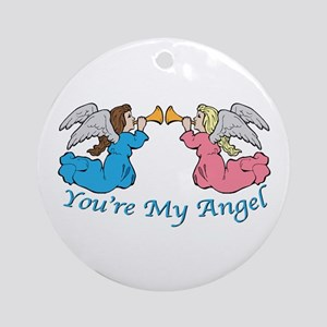 You're My Angel Ornament (Round)