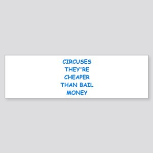 circus Bumper Sticker